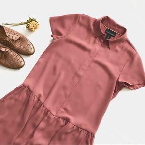CR Pink Shirt Dress
