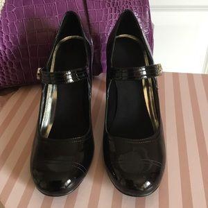 Style & Co Black patent Mary Jane Heels