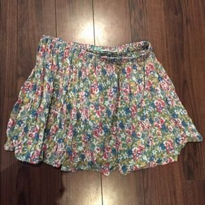 Urban Outfitters Mini Skirt Floral