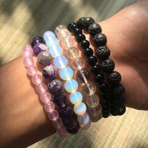 Jewelry - Clear Quartz Crystal Bracelet