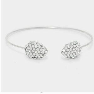 ✨3x HP✨Crystal Pave Cuff Bracelet