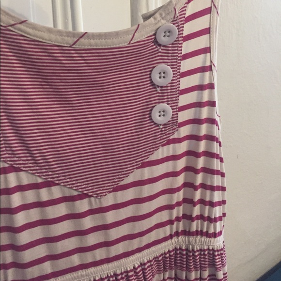 Marc By Marc Jacobs Dresses - Marc by Marc Jacobs fuchsia striped summer dress S