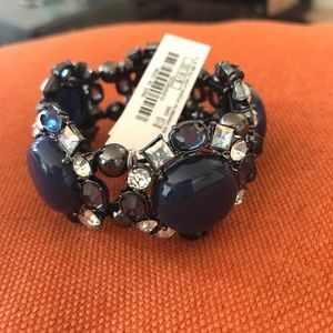 Jewelry - New with tags!!! Crystal/ blue bracelet