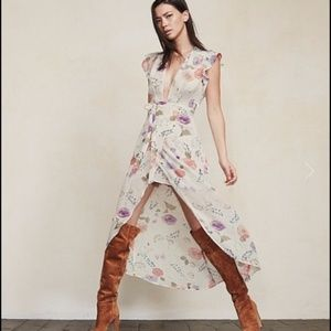NWT Reformation Charlene Dress-XS