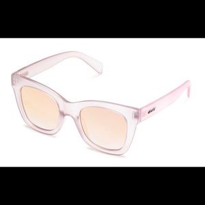Quay After hours sunglasses - pink like new