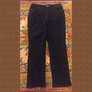 BANDOLINO JEANS, Size 10P, dark blue stretch