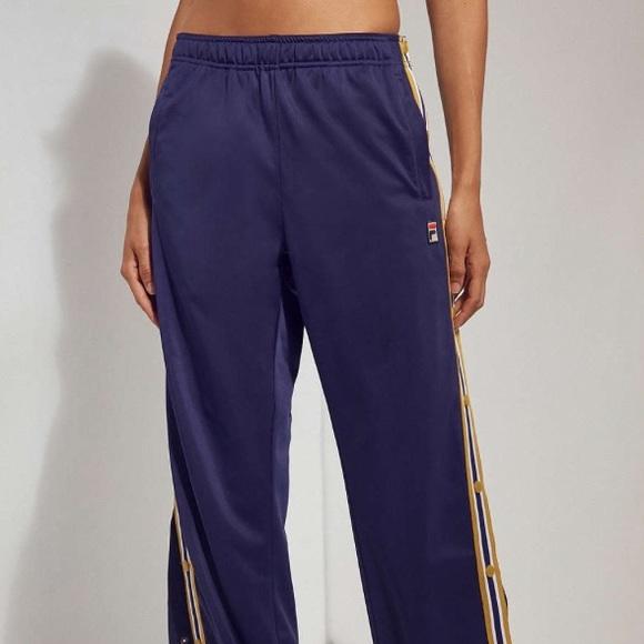 b82b955a1107 Urban Outfitters Pants | Tearaway Track Fila By Uo | Poshmark