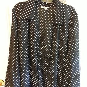 Open front blouse jacket by dressbarn size 18W