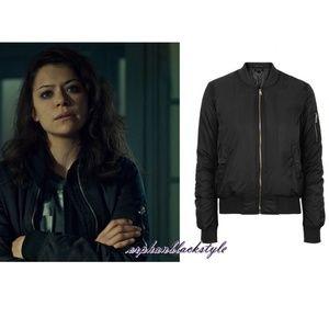 TOPSHOP MA1 Bomber jacket ASO Orphan Black