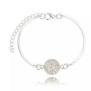 Jewelry - 💮2/$22 Opal Druzy Bangle