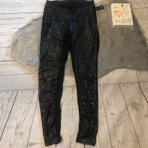 Torrid sequins front leggings nwt