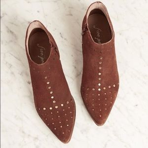 New Free People Suede Studded Aquarian Booties 36