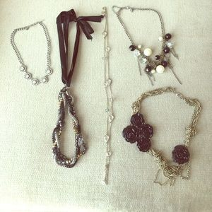 Necklaces from express except for one
