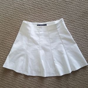 Zara White Tennis Mini Skirt
