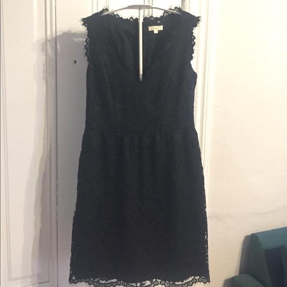 Shoshanna Dresses & Skirts - Shoshanna black lace dress 0