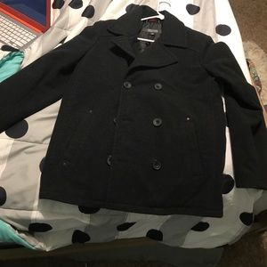 Dark gray Kenneth Cole reaction coat