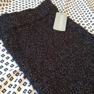 🆕 F21 Sparkly Pencil Skirt