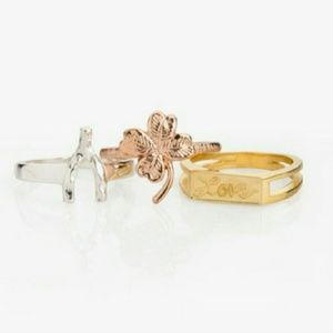 New in box Jewelmint Lady Luck Rings