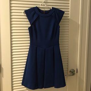 Ted Baker cobalt blue dress Size 1