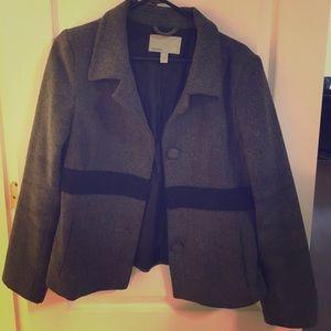 Old Navy gray pea coat