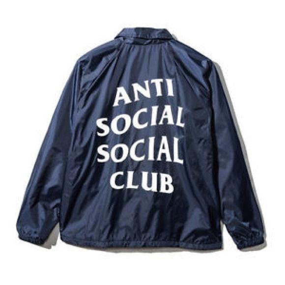 premium selection 654c5 1a33e Anti Social Social Club Other - AUTHENTIC antisocial social club windbreaker