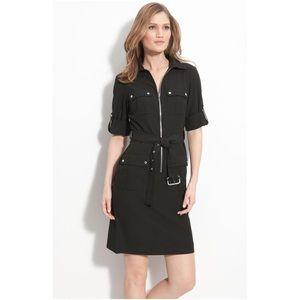 Michael Kors Roll Sleeve Shirt Dress