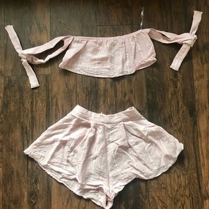 Blue Blush Pink Set