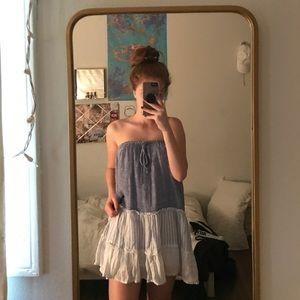 Anthropologie striped dress/ skirt