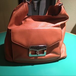 Marc Jacobs Tan Leather Bucket Shoulder Handbag