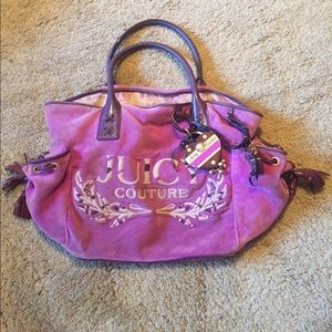 Used Large Authentic Juicy Couture Purse