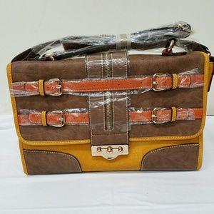 Melie Bianco Faux Leather Bag