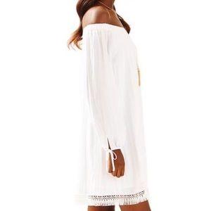 NWT Lilly Pulitzer Adira White Dress