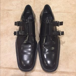 Vintage Men's Style Gucci Buckle Loafers Sz 7.5B