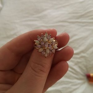Jewelry - Amethyst and Opal Ring