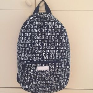 Marc by Marc jacobs logo backpack