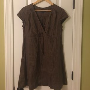 Boden size 10R tunic dress brown