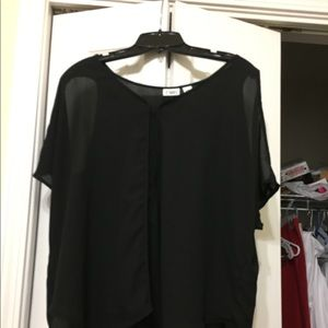 Cato black blouse