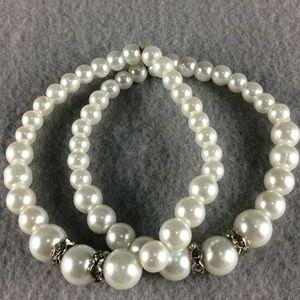 Jewelry - New Double Bead Stretch Bracelets
