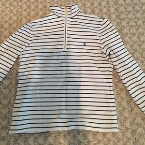 Ralph Lauren navy and white striped pullover