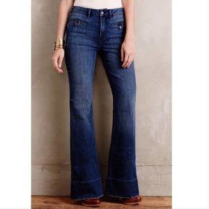 Anthropologie Pilcro Flare Jeans Sz 27