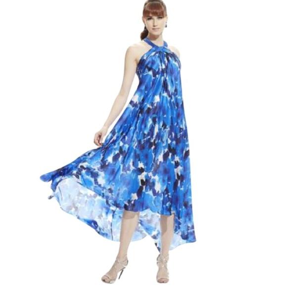 Theia Dresses | Sale Nwt Halter Gown | Poshmark