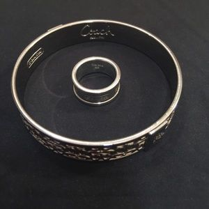 Ring and bangle bracelet