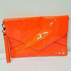 Melie Bianco Orange Neon Bag