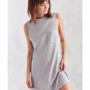 BDG JANE MUSCLE TEE DRESS TUNIC NWT