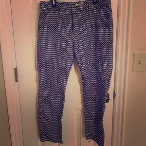 Merona ankle dress pants.