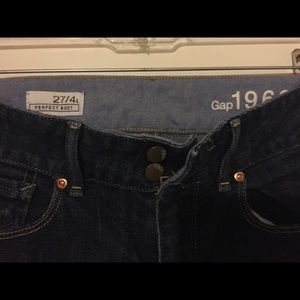 Gap Perfect Boot Dark Wash Jeans