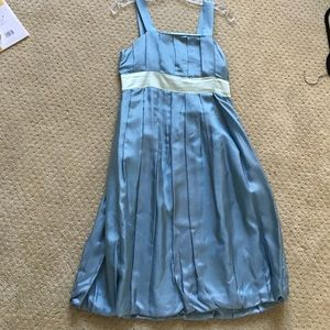 Marc by Marc Jacobs blue pleated dress