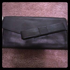 Banana Republic black wallet