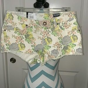 NWT Volcom High voltage floral shorts