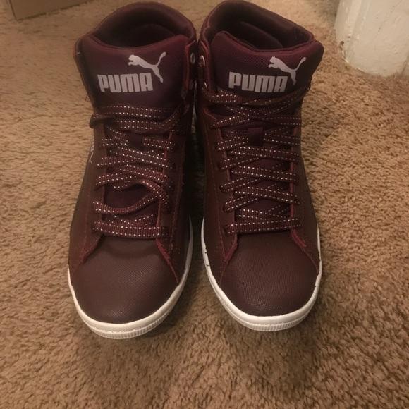 Puma high tops soft foam sneaker